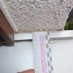 Leibungsputz außenkantenbündig zum Bordprofil der Fensterbank