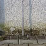 Sockelputz geschädigt, Abdichtung des Putzes gegen Bodenfeuchte fehlt