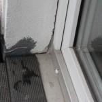 """""""Instandsetzung"""" einer Balkonabdichtung im Türbereich unzureichend"""