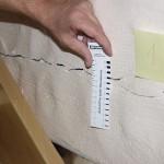 Trennriss im Mauerwerk infolge Deckendurchbiegung