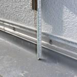 Terrassenabdichtung, Hochführung nicht regelgerecht hoch