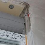 Rollladenkasten selbstgebaut, seitlich ungedämmt in monolithischem Außenmauerwerk