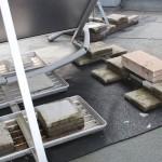 """Photovoltaikanlage auf Flachdach, """"Sicherung"""" gegen Windsog"""