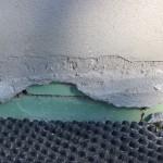 Außensockelputz ohne Armierungsgewebe auf Dämmplatten